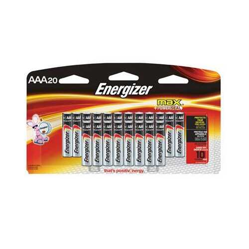 Energizer MAX AAA 20 Pack - NorCal Cyber Sales
