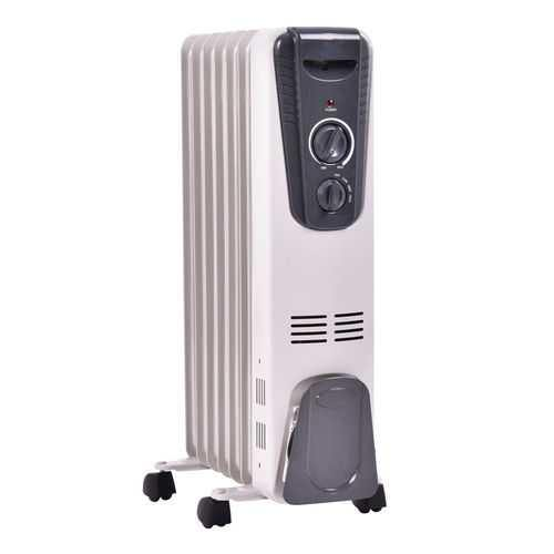 1500 W Electric Portable Oil Filled Space Heater with Adjustable Thermostat - NorCal Cyber Sales