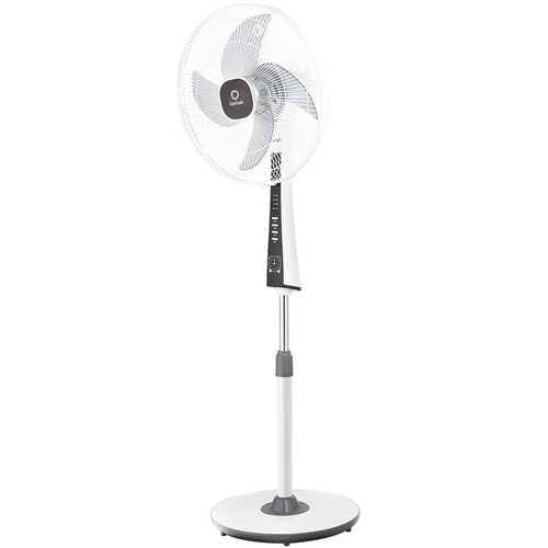 "15"" 4 Blades 3-Speed Height Adjustable Remote Control Pedestal Fan - NorCal Cyber Sales"