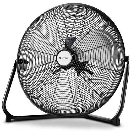 "Costway 16""/20"" High Velocity 3-Speed Floor Fan-20"" - Size: 20"" - NorCal Cyber Sales"