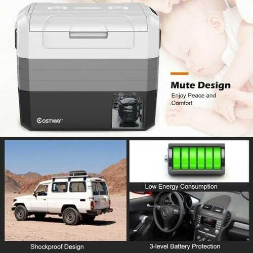 70 Quart Portable Electric Car Camping Cooler - NorCal Cyber Sales