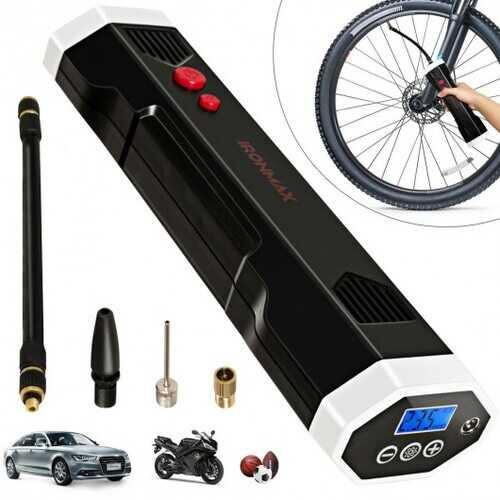 Rechargeable Wireless Air Pump for Car /Bicycle - NorCal Cyber Sales