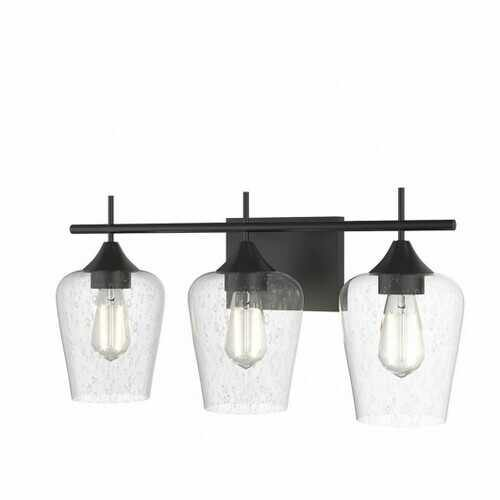 3-Light Wall Sconce Modern Bathroom Vanity Light Fixtures - NorCal Cyber Sales