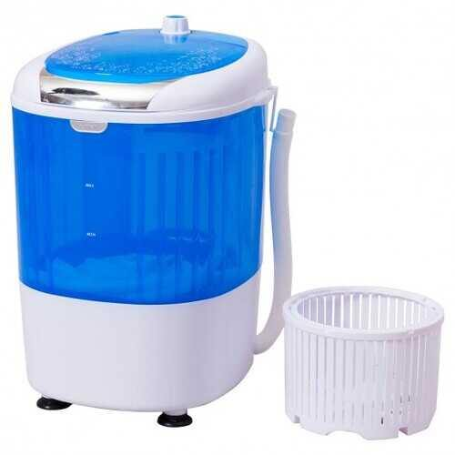 5.5 lbs Portable Mini Semi Auto Washing Machine - NorCal Cyber Sales