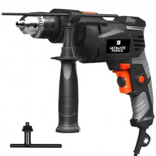 "1/2"" Electric Corded Impact Hammer Drill Variable Speed - NorCal Cyber Sales"