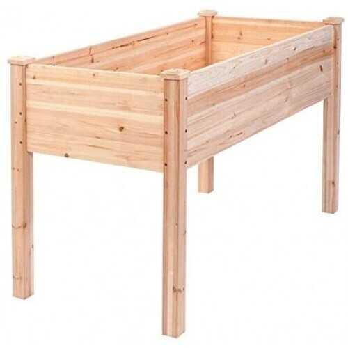 Wooden Raised Vegetable Garden Bed - NorCal Cyber Sales