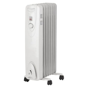 Optimus Portable 7 Fins Oil Filled Radiator Heater - NorCal Cyber Sales