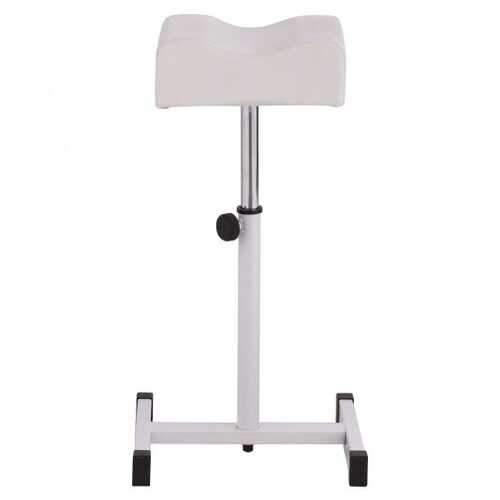 Adjustable Pedicure Manicure Technician Nail Footrest Salon Spa Equipment-White - Color: White - NorCal Cyber Sales