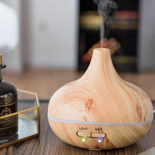 235 ML Cool Mist Humidifier Ultrasonic Aroma Essential Oil Diffuser - NorCal Cyber Sales