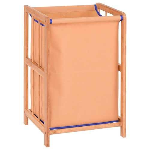 Bamboo Frame Durable Clothes Storage Laundry Hamper - NorCal Cyber Sales