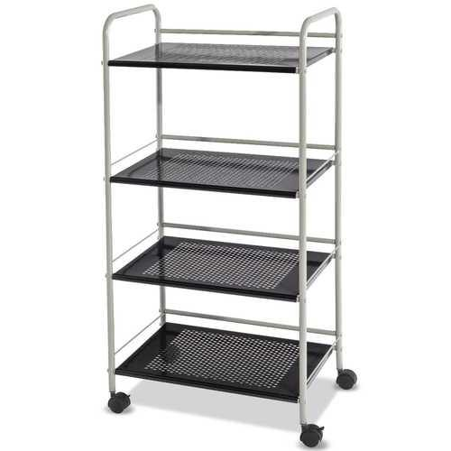 4 Tiers Rolling Cart Storage Display Rack - NorCal Cyber Sales