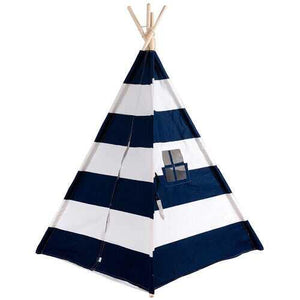 5' White & Blue Portable Indian Children Sleeping Dome Play Tent - Color: Blue - NorCal Cyber Sales