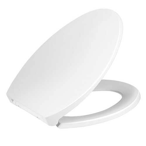 Elongated Slow-Close Toilet Seat with Non-Slip Seat - NorCal Cyber Sales