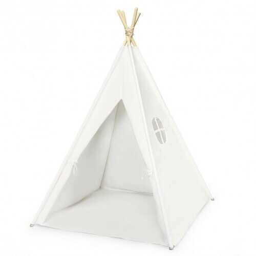 5.5 ft Portable Cotton Kids' Play Tent - NorCal Cyber Sales