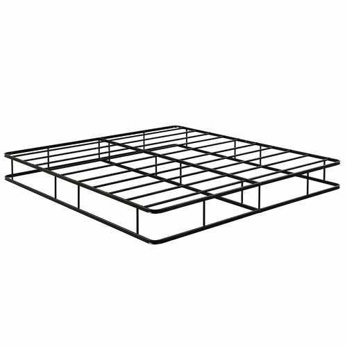 King Size Platform Low Profile Mattress Bed Frame - NorCal Cyber Sales