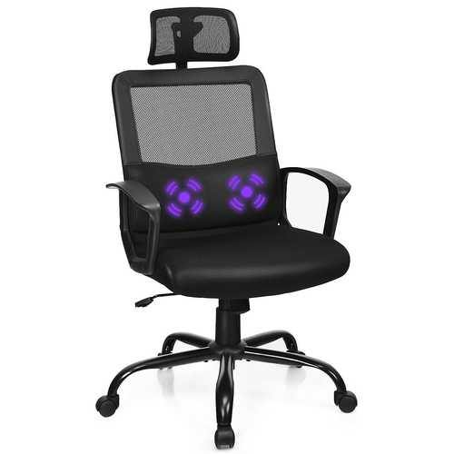 Mesh Office Chair High Back Ergonomic Swivel Chair - NorCal Cyber Sales