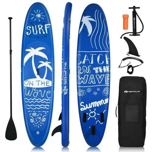 Inflatable & Adjustable Stand Up Paddle Board-L - Size: L