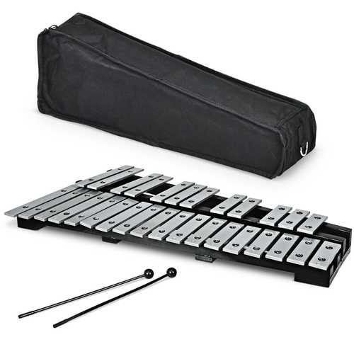 Foldable Aluminum Glockenspiel Xylophone 30 Note with Bag - NorCal Cyber Sales
