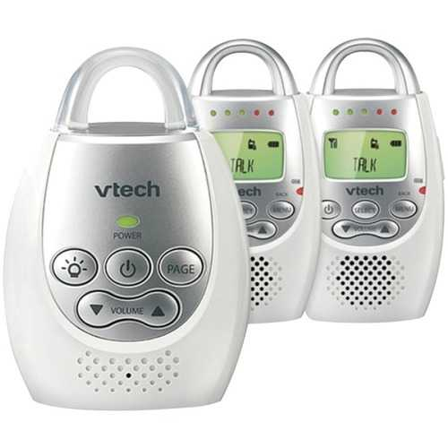 Vtech Safe & Sound Digital Audio Baby Monitor With 2 Parent Units (pack of 1 Ea) - NorCal Cyber Sales