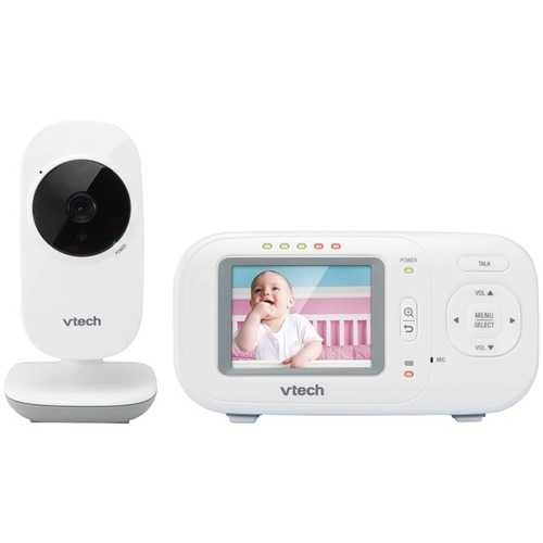 "Vtech 2.4"" Full-color Digital Video Baby Monitor & Automatic Night Vision (pack of 1 Ea) - NorCal Cyber Sales"