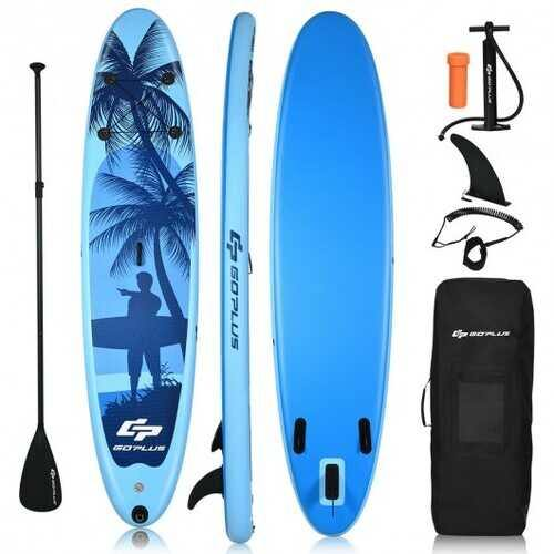 Adult Youth  Inflatable Stand Up Paddle Board-L - Size: L - NorCal Cyber Sales