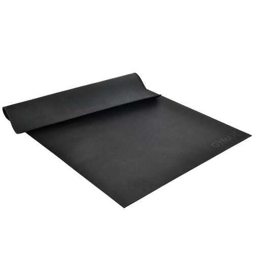 Large Yoga Mat 6' x 4' x 8 mm Thick Workout Mats-Black - Color: Black - NorCal Cyber Sales