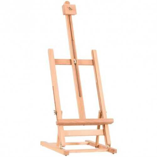 Adjustable Portable Wood Tabletop Easel H-Frame for Artist Painting Display - NorCal Cyber Sales