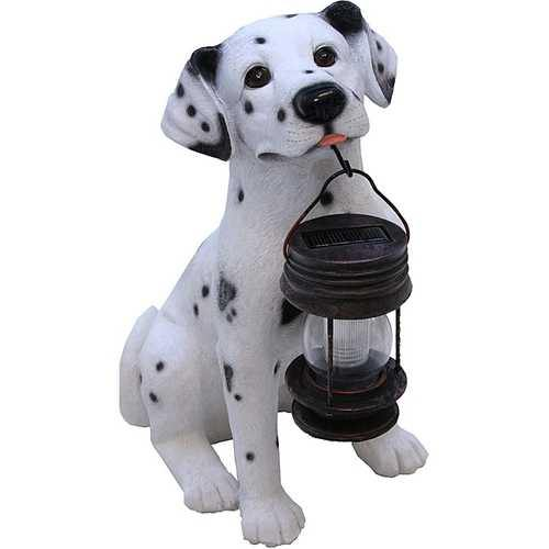 Dalmatian Dog Solar Light Lantern with Super Bright LED - NorCal Cyber Sales