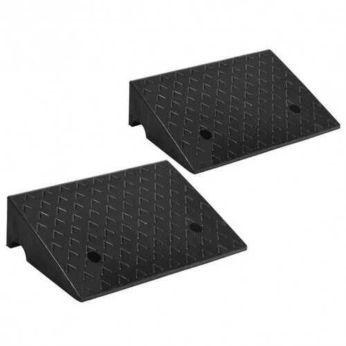 "2 PCS 5"" Rubber Car Curb Ramps - NorCal Cyber Sales"
