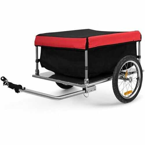Bike Trailer with Folding Frame and Quick Release Wheels - NorCal Cyber Sales