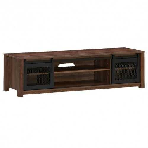 "TV Stand Entertainment Center for TV's up to 65"" -Coffee - Color: Coffee"