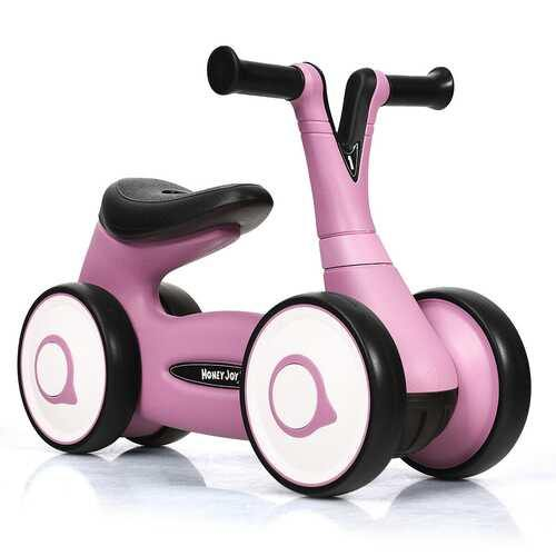 Baby Balance Bike Bicycle Toddler Toys Rides No-Pedal-Pink - Color: Pink - NorCal Cyber Sales