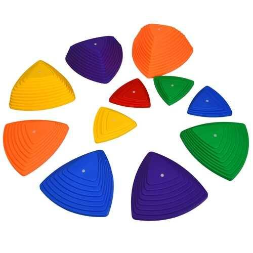11 Pcs Non-Slip Bottom Kids Balance Stepping Stones - NorCal Cyber Sales