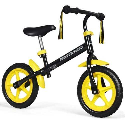 Adjustable Lightweight Kids Balance Bike-Yellow - Color: Yellow - NorCal Cyber Sales