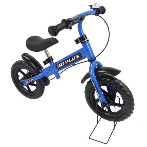 "12"" Three Colors Kids Bike Bicycle with Brakes and Bell-Blue - Color: Blue - NorCal Cyber Sales"