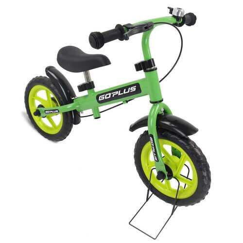 "12"" Three Colors Kids Bike Bicycle with Brakes and Bell-Green - Color: Green - NorCal Cyber Sales"