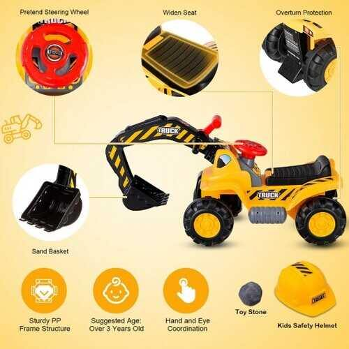 Kids Electronic Ride On Toy Excavator - NorCal Cyber Sales