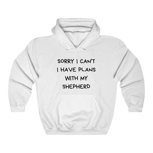 Sorry I Can't I Have Plans With My Shepherd, German Shepherd Sweater, Men's Jumper, Women's Jumper,  German Shepherd Lover, German Shepherd Mom or Dad, German Shepherd Gift