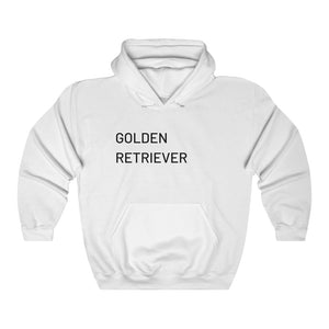 Golden Retriever Hooded Sweatshirt, Dog Lover, Retriever Sweatshirt, Unisex Sweater, Dog Lover Gift