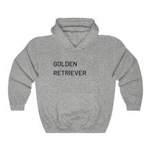 Load image into Gallery viewer, Golden Retriever Hooded Sweatshirt, Dog Lover, Retriever Sweatshirt, Unisex Sweater, Dog Lover Gift