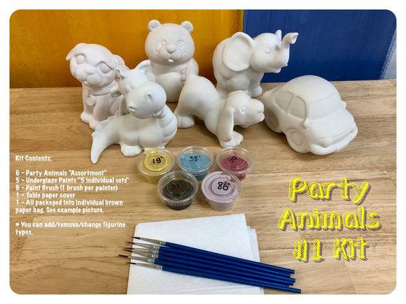 Party Animals #1 - Party Kit