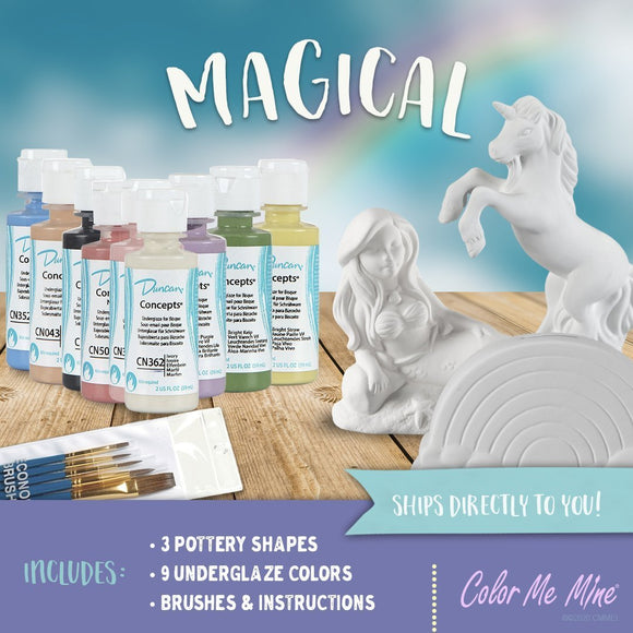Magical Kit - (Underglaze Paint)