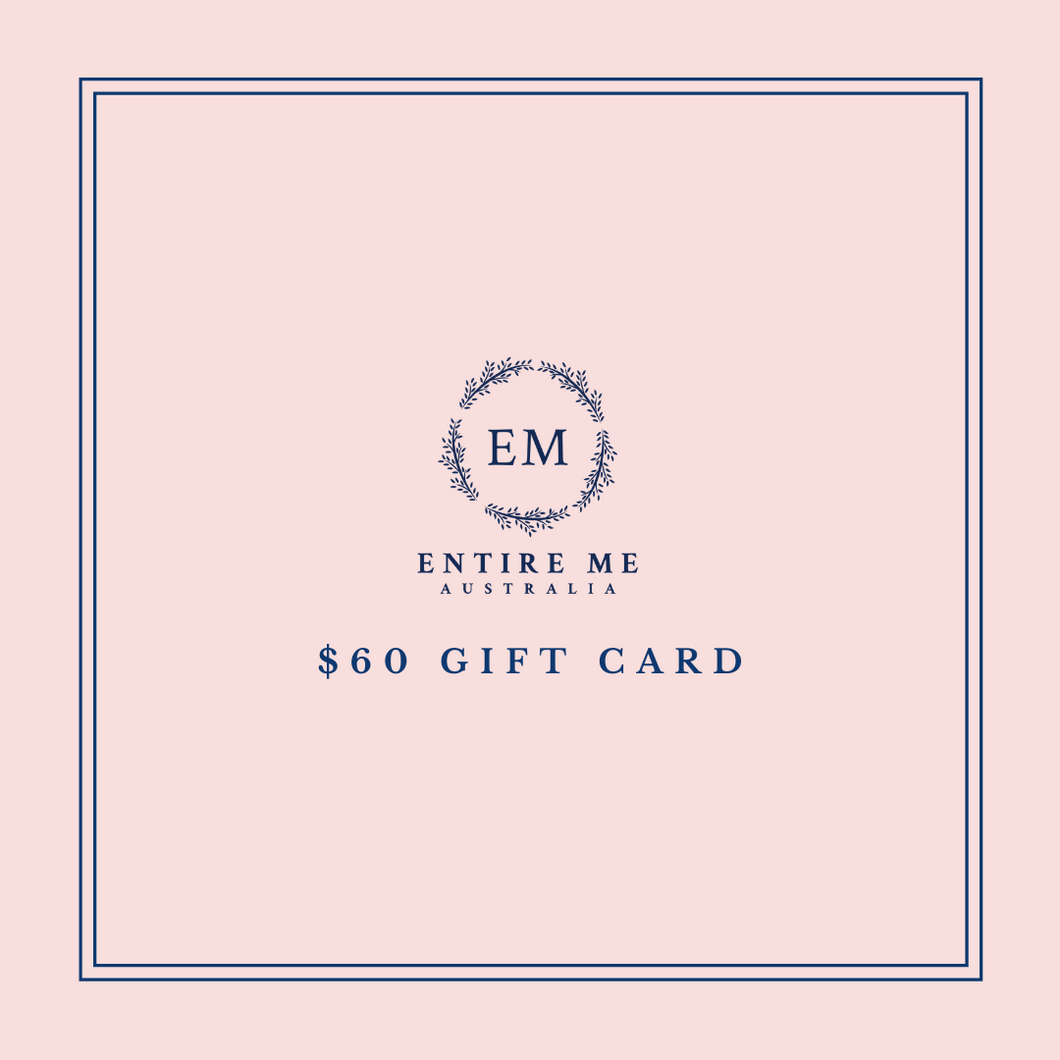$60 Gift Card