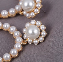 Load image into Gallery viewer, Hannah Pearls (silver, gold)