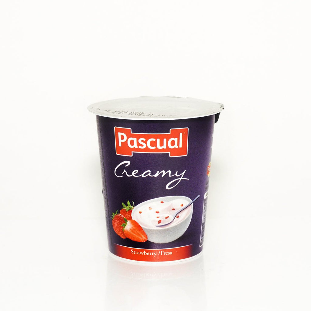 PASCUAL CREAMY-STRAWBERRY 125GM