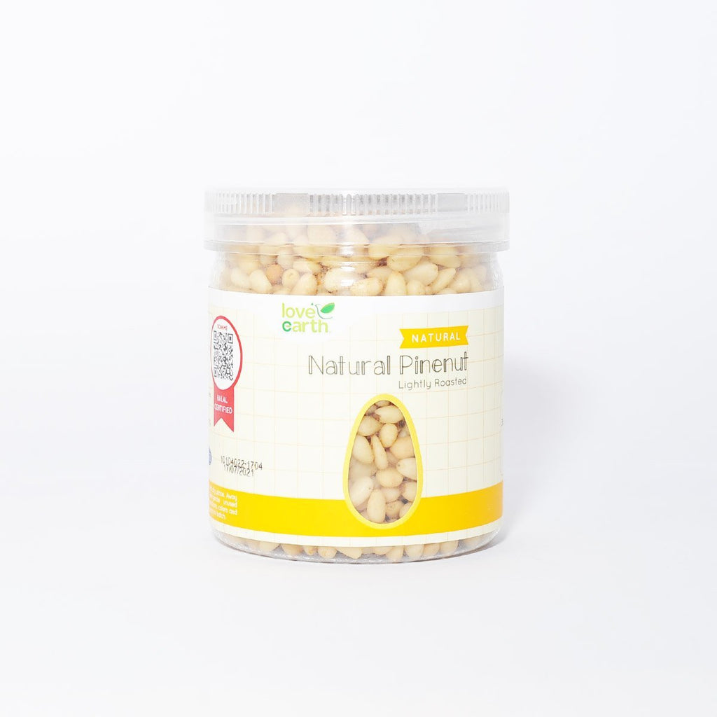 LOVE EARTH NATURAL PINENUT 180G