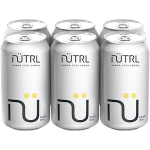 NUTRL VOD SODA LEMON