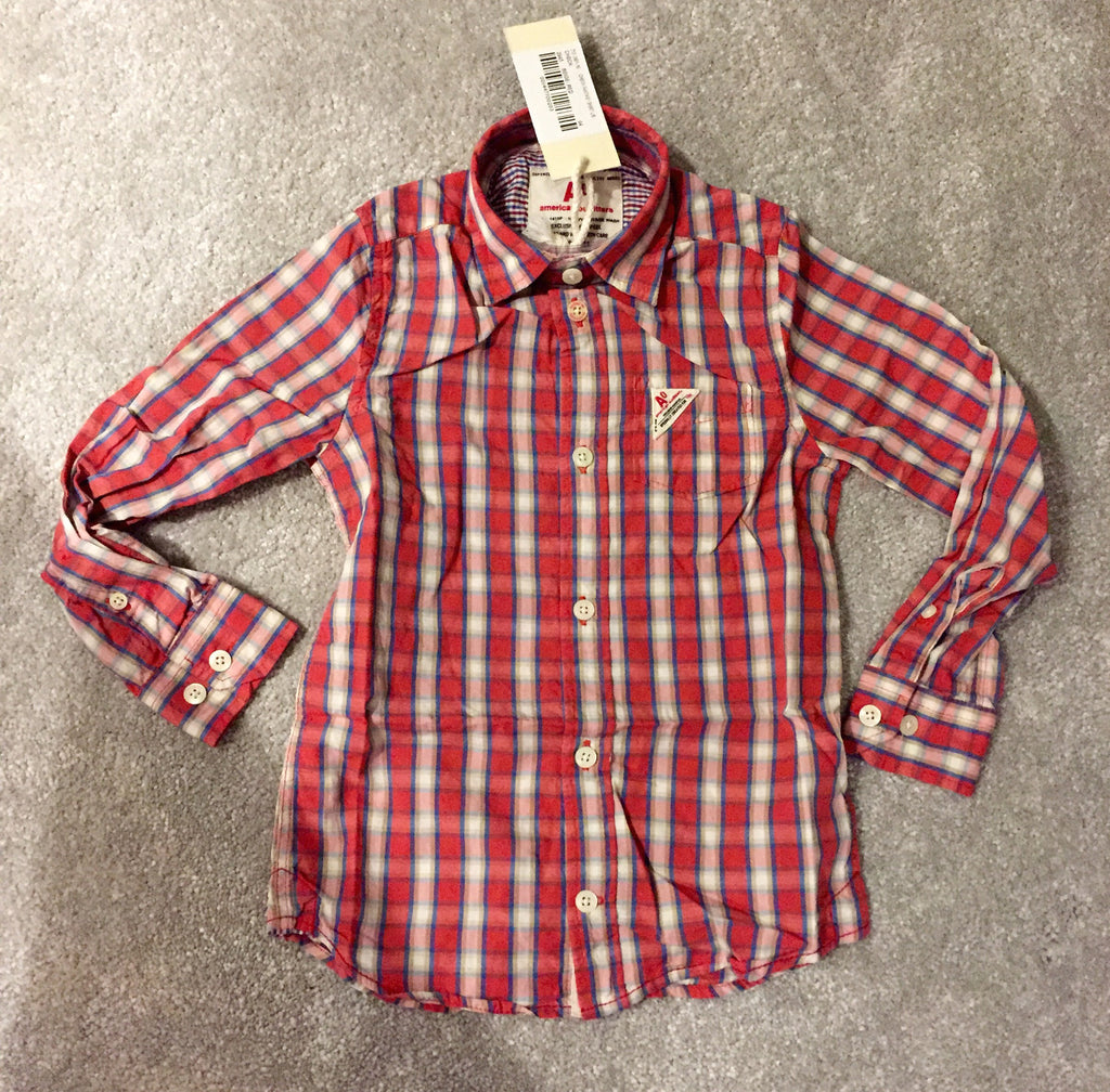 American Outfitters Checked Shirt - Children's Fashion Outlet