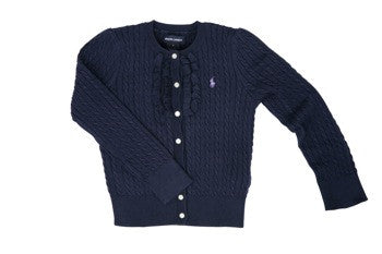 Ralph Lauren Classic Knitted Cardigan (various colours)