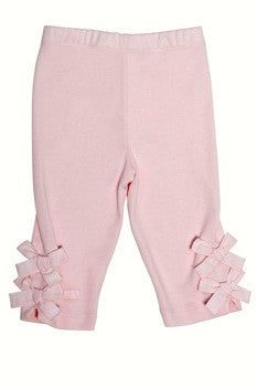 Lili Gaufrette Baby Bow Bottom Leggings